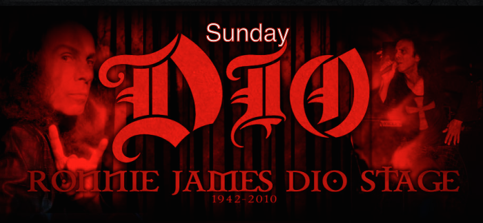 Ronnie James Dio Stage | Sunday | Fake Geeks