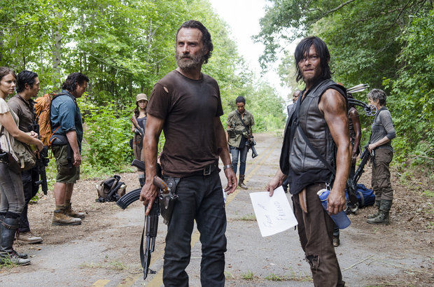 TV Review, The Walking Dead, Them, Fake Geeks