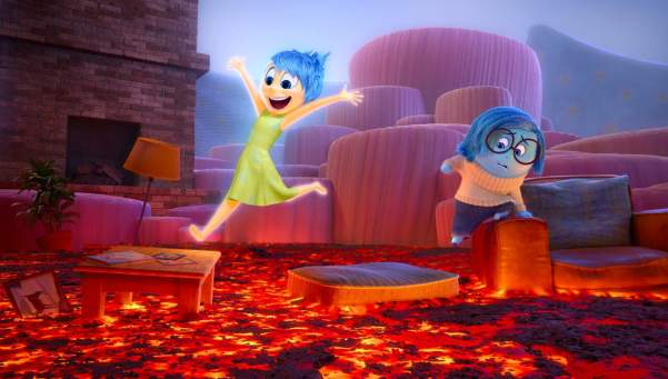 INSIDE OUT – Joy and Sadness navigate through Imagination Land. ©2015 Disney•Pixar. All Rights Reserved.