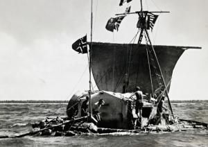 Kon Tki Boat
